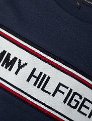 Tommy Hilfiger - TH INTARSIA TEE S/S - short-sleeved - twilight navy 654-860 - 2