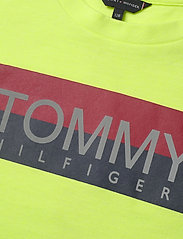 Tommy Hilfiger - REFLECTIVE HILFIGER TEE S/S - short-sleeved - safety yellow 13-0630 - 2