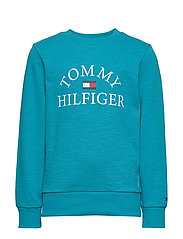 ESSENTIAL LOGO SWEAT - EXOTIC TEAL 326-650