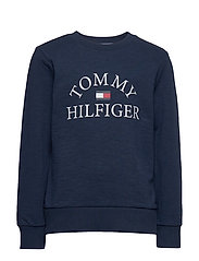 ESSENTIAL LOGO SWEAT - TWILIGHT NAVY