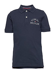ESSENTIAL LOGO CHEST POLO S/S - TWILIGHT NAVY 654-860