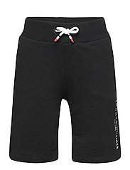 ESSENTIAL SWEATSHORTS - BLACK