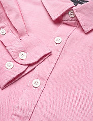 Tommy Hilfiger - STRUCTURED LINEN SHI - shirts - light cerise pink - 3