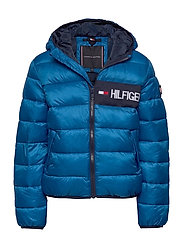 ESSENTIAL PADDED JACKET - DYNAMIC BLUE