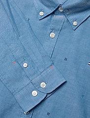 Tommy Hilfiger - AOP OXFORD SHIRT L/S - overhemden - blue allover - 2