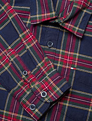 Tommy Hilfiger - OXFORD  CHECK SHIRT L/S - overhemden - blue check/deep crimson - 2