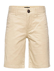 ESSENTIAL CHINO SHORT TH FLEX - MISTY BEIGE