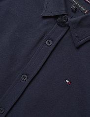 Tommy Hilfiger - STRETCH PIQUE SHIRT L/S - shirts - twilight navy - 2