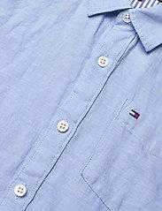 Tommy Hilfiger - ESSENTIAL COTTON LINEN SHIRT L/S - shirts - light blue - 2