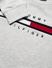 Tommy Hilfiger - FLAG RIB INSERT SWEATSHIRT - sweatshirts - light grey heather - 2