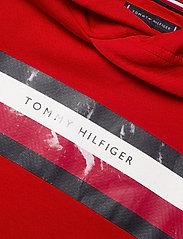 Tommy Hilfiger - TH STRIPE HOODIE - deep crimson - 2