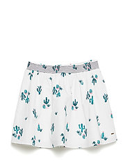 CACTUS ALLOVER PRINT - BRIGHT WHITE/MULTI