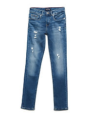 NORA SKINNY DESTRUCTED NYMS - NEW YORK MID STRETCH