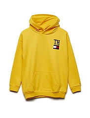 COLLEGIC STAMP BOYFRIEND HOODIE - SPECTRA YELLOW