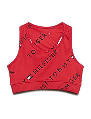 SPORTS AOP BRA - APPLE RED