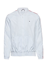 ESSENTIAL BRANDED TAPE JACKET - BRIGHT WHITE