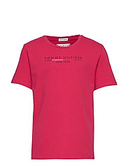 ESSENTIAL HILFIGER T - VIRTUAL PINK