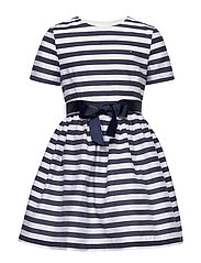 NAUTICAL STRIPE DRESS - WHITE STRIPE 01