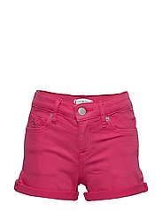 NORA SHORT SOCDST - BLUSH RED