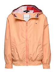 ESSENTIAL LIGHT WEIGHT JACKET - MELON ORANGE