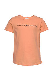 ESSENTIAL  TEE S/S - MELON ORANGE