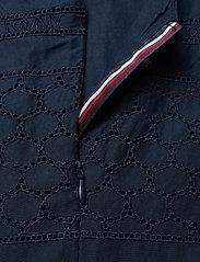Tommy Hilfiger - BRODERIE ANGLAISE DRESS SLVLS - nightdresses - twilight navy - 3