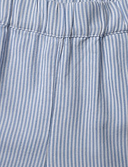 Tommy Hilfiger - RUFFLE ITHACA STRIPE - shorts - white/ calm blue - 2