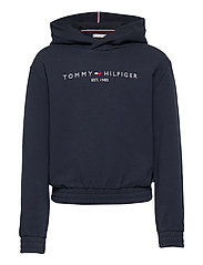 ESSENTIAL HOODED SWEATSHIRT - TWILIGHT NAVY
