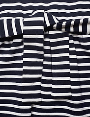 Tommy Hilfiger - RUFFLE STRIPE JERSEY DRESS  S/S - dresses - twilight navy/ white - 3