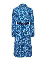 DITSY FLOWER PRINT DRESS S/S - DYNAMIC BLUE/ DITSY FLOWER
