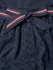 Tommy Hilfiger - COMBI DRESS S/S - kleider - twilight navy - 3