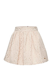 STAR JACQUARD SKIRT - IVORY PETAL/ STAR ALLOVER