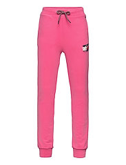 FLAG PRINT SWEATPANTS - EXOTIC PINK