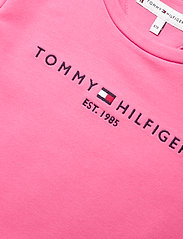 Tommy Hilfiger - ESSENTIAL  SKATER DRESS S/S - kleider - exotic pink - 2