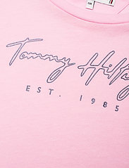 Tommy Hilfiger - LOGO TEE S/S - short-sleeved - romantic pink - 2