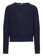 STRUCTURED CARDIGAN - TWILIGHT NAVY