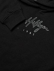 Tommy Hilfiger - LOGO HWK DRESS - hoodies - black - 2