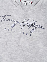 Tommy Hilfiger - LOGO TEE S/S 2 - short-sleeved - silver grey heather - 2