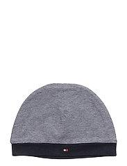 STRIPE BABY HAT - NAVY BLAZER