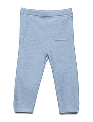 BABY KNITTED PANTS - DUSK BLUE