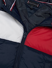 Tommy Hilfiger - BABY FLAG PUFFER JACKET - puffer & padded - twilight navy - 3