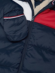 Tommy Hilfiger - BABY FLAG SKISUIT - thermo - twilight navy - 4