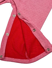 Tommy Hilfiger - BABY RAGLAN COVERALL L/S - langärmelig - rosey pink - 4