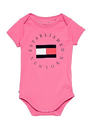 BABY ESTABLISHED BODY S/S - EXOTIC PINK