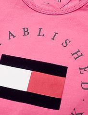 Tommy Hilfiger - BABY ESTABLISHED BODY S/S - kurzärmelige - exotic pink - 2