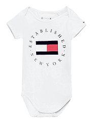 BABY ESTABLISHED BODY S/S - WHITE