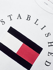 Tommy Hilfiger - BABY ESTABLISHED BODY S/S - kurzärmelige - white - 2