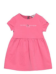 BABY ESSENTIAL DRESS S/S - EXOTIC PINK