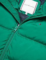 Tommy Hilfiger - U REFLECTIVE FLAG BOMBER - dunjakker & forede jakker - midwest green - 4