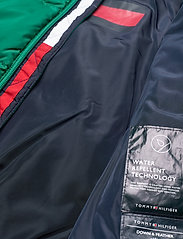 Tommy Hilfiger - U REFLECTIVE FLAG BOMBER - puffer & padded - midwest green - 6